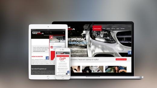 Metamorfa Studio Portfolio, Sprezedam Twoje Auto | www.sprzedamtwojeauto.pl